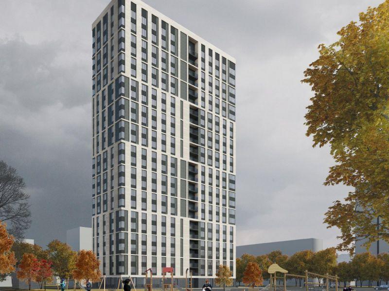 однокомнатная квартира в новостройке в 93 пог.м от жилого дома № 23 по ул. Маковского