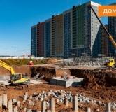 Ход строительства дома № 3 в ЖК КМ Анкудиновский парк -