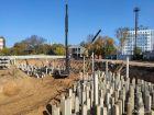 Ход строительства дома № 1 в ЖК Книги - фото 67, Сентябрь 2020