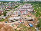 Ход строительства дома № 5 в ЖК Ватсон - фото 22, Июнь 2021
