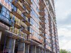 Ход строительства дома Литер 1 в ЖК Первый - фото 112, Май 2018