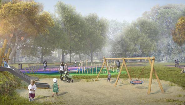 Благоустройство парка «Дубки» в Нижнем Новгороде