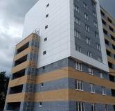 Ход строительства дома № 2 в ЖК Подкова на Гагарина -