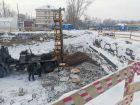 ЖД на ул. Армейская - ход строительства, фото 2, Январь 2021