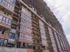 Ход строительства дома Литер 1 в ЖК Первый - фото 120, Апрель 2018