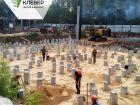 Ход строительства дома № 1 в ЖК Клевер - фото 119, Август 2018