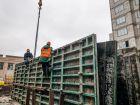 Ход строительства дома 60/3 в ЖК Москва Град - фото 69, Март 2019