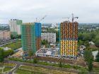 Ход строительства дома № 1 второй пусковой комплекс в ЖК Маяковский Парк - фото 10, Август 2021