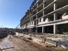 Ход строительства дома № 3 в ЖК Квартет - фото 13, Апрель 2021