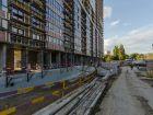 Ход строительства дома Литер 1 в ЖК Первый - фото 84, Сентябрь 2018