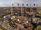 Ход строительства дома Литер 1 в ЖК Звезда Столицы - фото 16, Май 2020