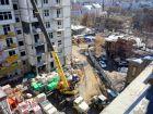 Ход строительства дома №1 в ЖК Премиум - фото 65, Апрель 2018