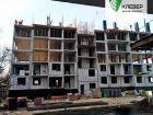 Ход строительства дома № 1 в ЖК Клевер - фото 99, Ноябрь 2018