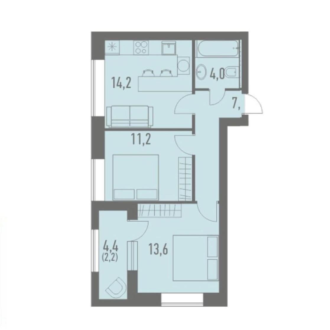 Топ-10 неудачных планировок квартир в новостройках - фото 9