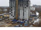 Ход строительства дома № 1, секция 1 в ЖК Заречье - фото 2, Апрель 2021