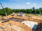 Ход строительства дома № 16 в ЖК Город времени - фото 11, Июль 2021
