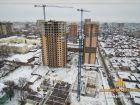 ЖК Центральный-2 - ход строительства, фото 121, Январь 2018