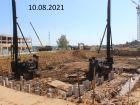 Ход строительства дома № 11 в ЖК Новая Кузнечиха - фото 2, Август 2021