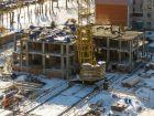 Ход строительства дома № 1 в ЖК Город чемпионов - фото 85, Октябрь 2014