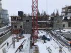 Ход строительства дома на Минина, 6 в ЖК Георгиевский - фото 17, Февраль 2021